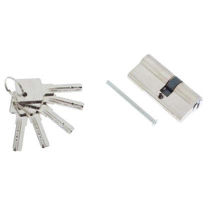 Цилиндр Palladium 70 30x40 мм ключ/ключ цвет хром