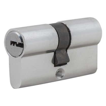 Цилиндр Standers 60 30x30 мм ключ-ключ цвет хром