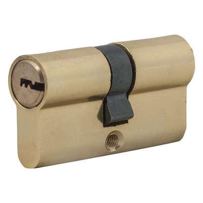 Цилиндр Standers 60 30x30 мм ключ-ключ цвет золото