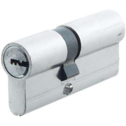 Цилиндр Standers 70 30x40 мм ключ-ключ цвет хром