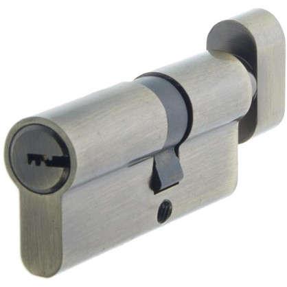 Цилиндр Standers 70 30x40 мм ключ-вертушка цвет бронза