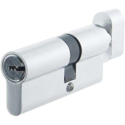 Купить Цилиндр Standers 70 30x40 мм ключ-вертушка цвет хром дешевле