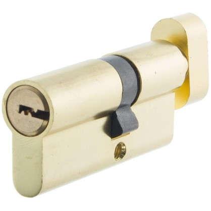 Цилиндр Standers 70 30x40 мм ключ-вертушка цвет золото