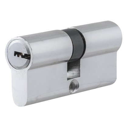 Цилиндр Standers 70 35x35 мм ключ-ключ цвет хром