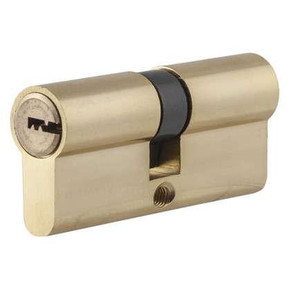 Цилиндр Standers 70 35x35 мм ключ-ключ цвет золото