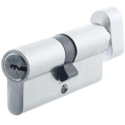 Цилиндр Standers 70 35x35 мм ключ-вертушка цвет хром