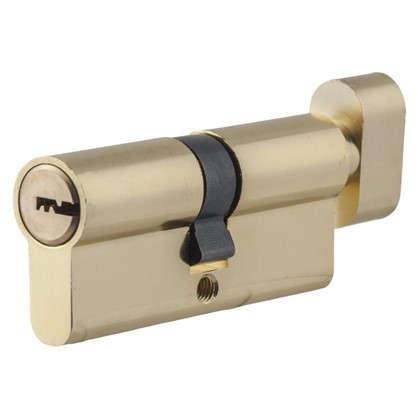 Цилиндр Standers 70 35x35 мм ключ-вертушка цвет золото