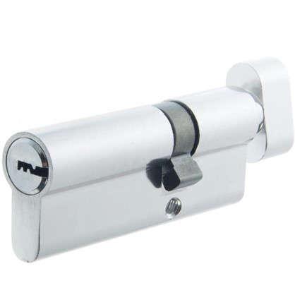 Купить Цилиндр Standers 80 30x50 мм ключ-вертушка цвет хром дешевле