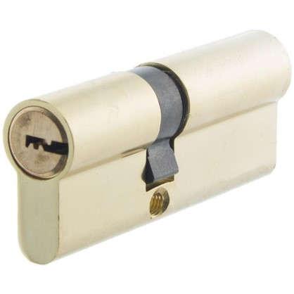 Цилиндр Standers 80 35x45 мм ключ-ключ цвет золото