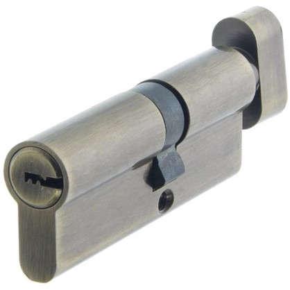 Цилиндр Standers 80 35x45 мм ключ-вертушка цвет бронза