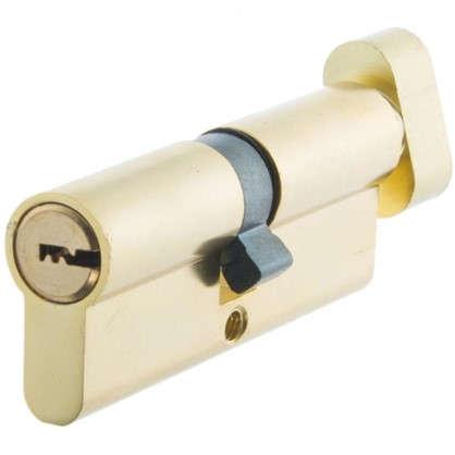 Цилиндр Standers 80 40x40 мм ключ-вертушка цвет золото