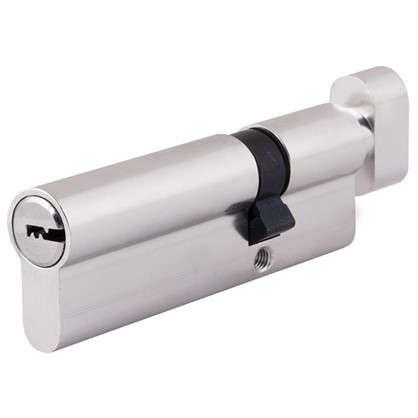 Цилиндр Standers 90 30x60 мм ключ-вертушка цвет хром