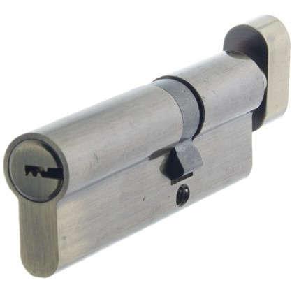 Цилиндр Standers 90 35x55 мм ключ-вертушка цвет бронза