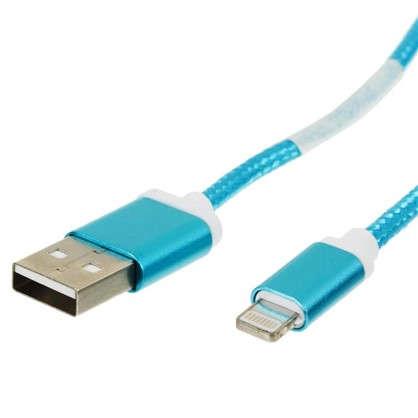Дата-кабель DCC025 8PIN цвет синий