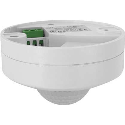 Датчик движения Duwi DDP-03 3X Detector 1200 Вт цвет белый IP40