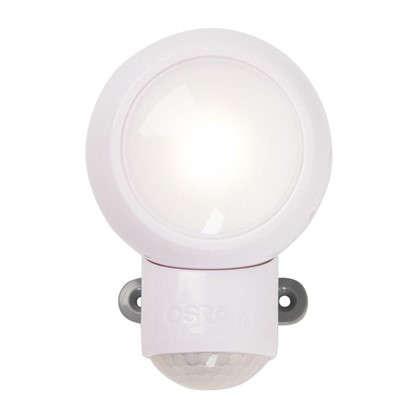 Датчик движения-фонарь Spylux Osram LED 0.23 Вт цвет белый IP 43