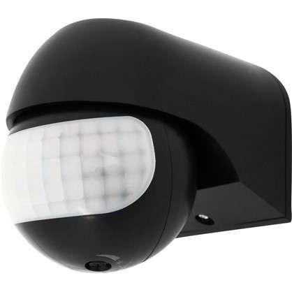 Купить Датчик движения накладной радиус действия 5 метров 180 градусов 1100 Вт цвет чёрный IP44 дешевле
