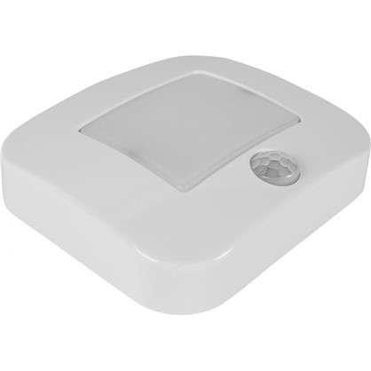 Датчик движения-светильник Nightlux Osram LED 0.3 Вт цвет белый IP 54