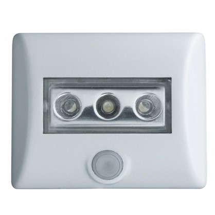 Купить Датчик движения-светильник Nightlux Osram LED 0.3 Вт цвет белый IP 54 дешевле