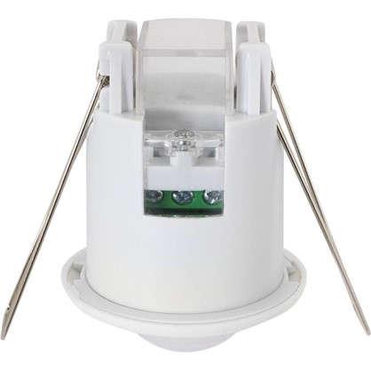 Купить Датчик движения встраиваемый Mini потолочный радиус действия 3 м 800 Вт цвет белый IP20 дешевле