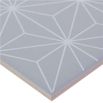 Декор Калейдоскоп 20х20 см цвет серый