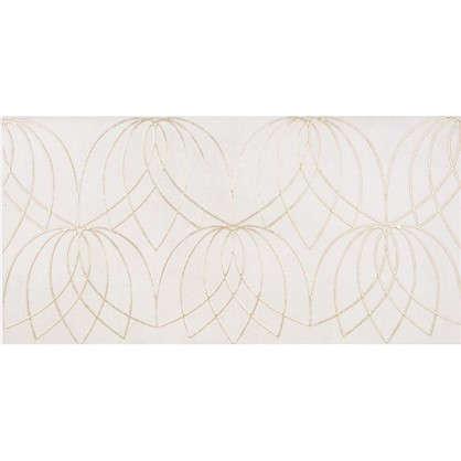 Декор Lotus 60x30 см цвет светло бежевый