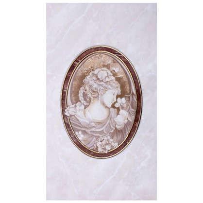 Декор Pietra 23x40 см цвет коричневый