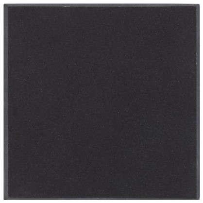 Декор полированный ST10 7х7 см цвет чёрный