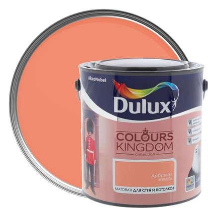 Декоративная краска для стен и потолков Dulux Colours Kingdom цвет арбузная мякоть 2.5 л