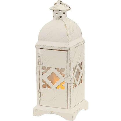 Декоративный светильник светодиодный Орнамент со встроенной мерцающей свечкой