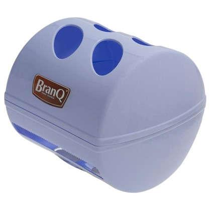 Держатель для туалетной бумаги Aqua с крышкой цвет белый