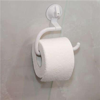 Держатель для туалетной бумаги Easy Solution присоска цвет белый