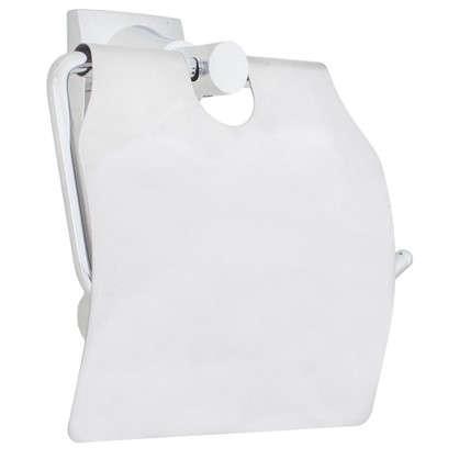Держатель для туалетной бумаги Grampus Ocean с крышкой цвет хром