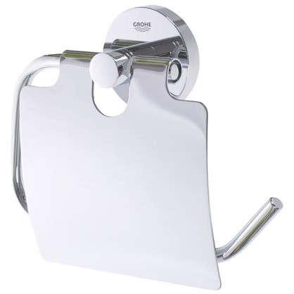 Держатель для туалетной бумаги с крышкой Essential