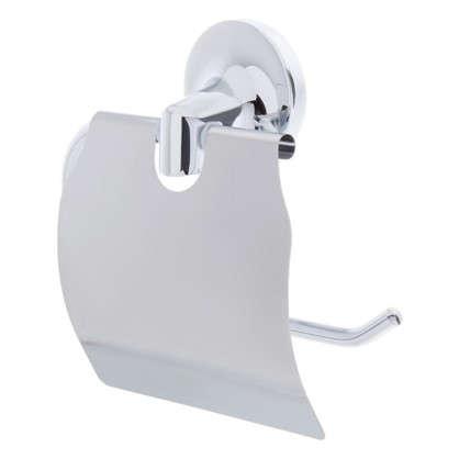 Держатель для туалетной бумаги Sensea Elliot с крышкой цвет хром