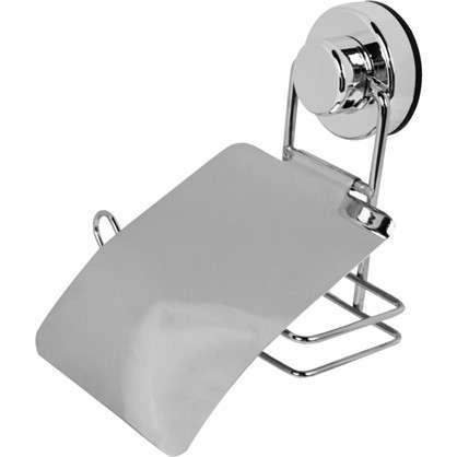 Держатель для туалетной бумаги Sensea Simply Lock на присоске цвет хром