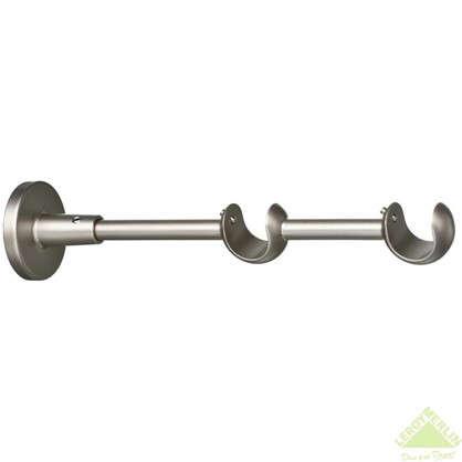 Держатель двухрядный открытый 12/20 см матовая сталь