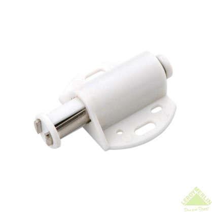 Купить Держатель магнитный Boyard MH01 для одного стеклянного фасада 41.8х46.5 мм пластик цвет белый 2 шт. дешевле