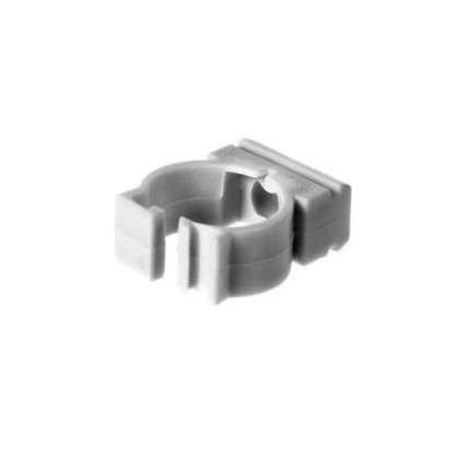 Купить Держатель с защелкой для труб Экопласт D16 мм 10 шт. дешевле