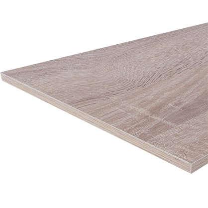 Мебельная деталь ЛДСП 200х600х16 мм цвет дуб сонома