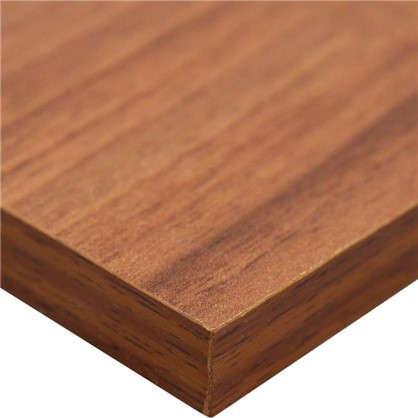 Мебельная деталь ЛДСП 2700x400x16 мм цвет орех антик