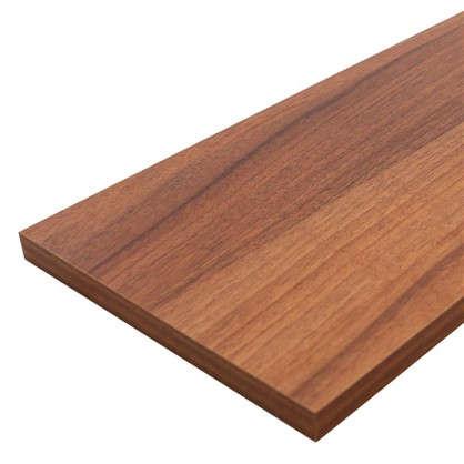 Мебельная деталь ЛДСП 800x200x16 мм цвет орех антик