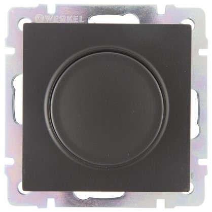 Купить Диммер Werkel WL01-DM600 600 Вт цвет черный дешевле