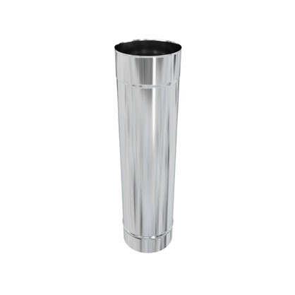 Дымоход 115х0.5 мм 0.5 м нержавеющая сталь