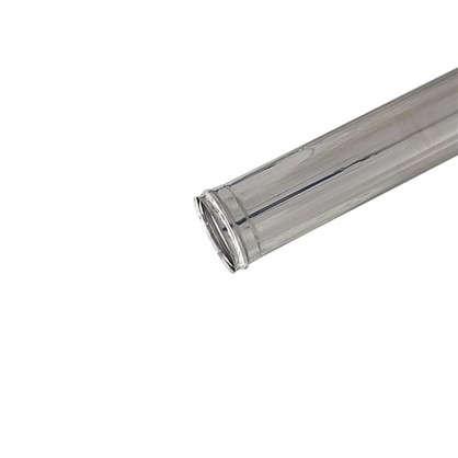 Дымоход 120х0.5 мм 1 м нержавеющая сталь