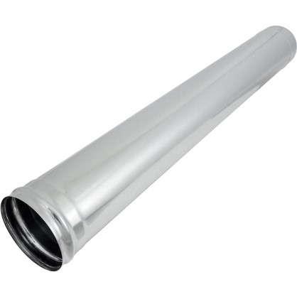 Дымоход 135х0.5 мм 1 м нержавеющая сталь цена