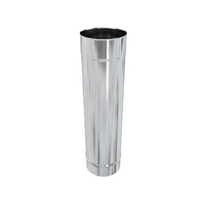 Дымоход 135х0.5 мм 0.5 м нержавеющая сталь