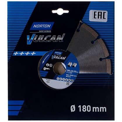 Диск алмазный Norton Universal с сегментированной кромкой 180x22.2 мм