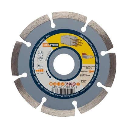 Диск алмазный по бетону Dexter 115x22.2 мм