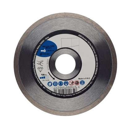 Диск алмазный по керамике 115x22.2 мм